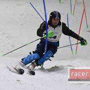 Skiing star Zak Vinter