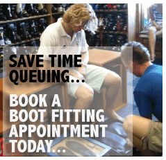Book a ski boot fitting appointment