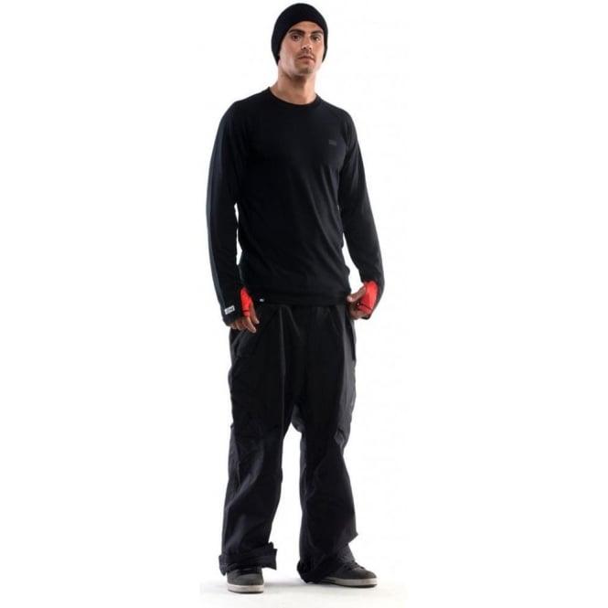 Mons Royale Men's Supa Tech Long Sleeve - Black