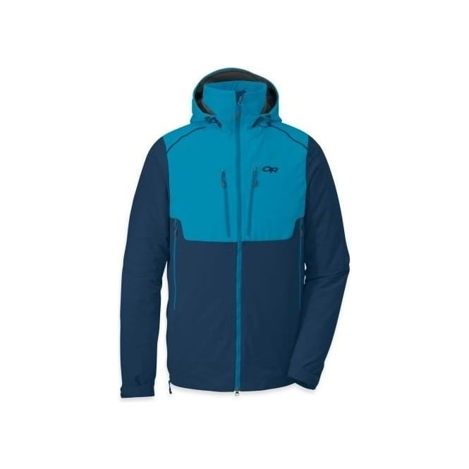 Outdoor Research Mens Valhalla Hoody - Blue