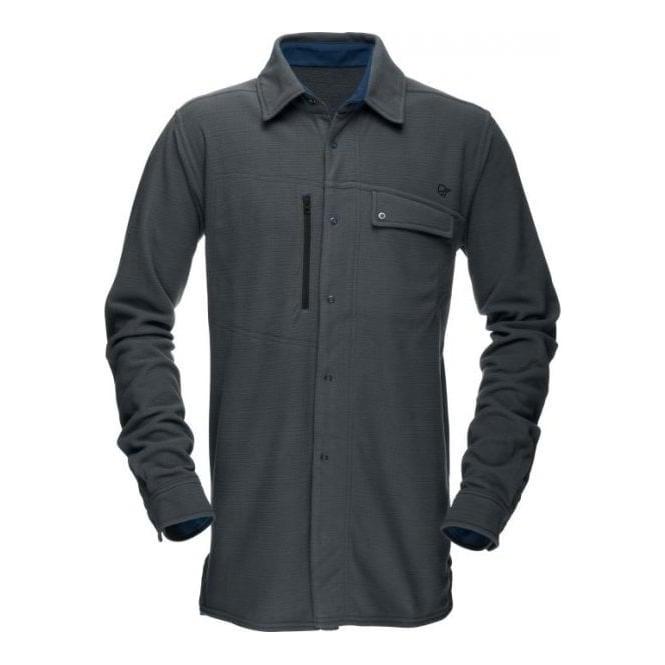 Norrona Mens Roldal Warm1 Shirt - Cool Black