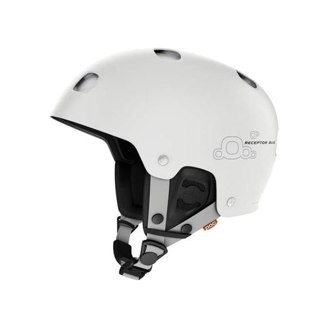 POC Helmet Receptor Bug - Hydrogen White