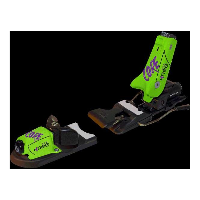 Knee Bindings Core 3-12 64-90mm Green/Black (Shop Soiled)