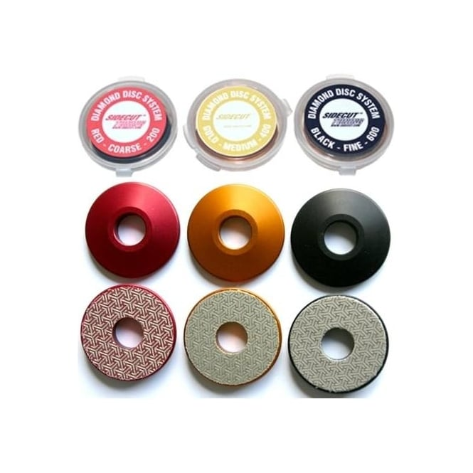 Sidecut Diamond Stone Disc 600 Fine