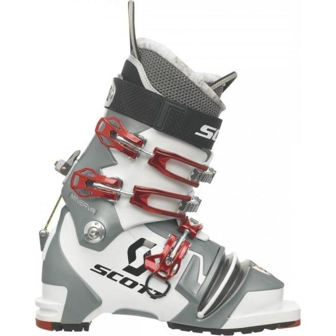 Scott Telemark Boots Minerva Womens White/Grey