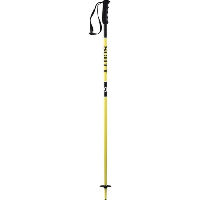 Scott Junior Race Poles Team Issue (Suitable for Race or Recreational Skiing) - Yellow