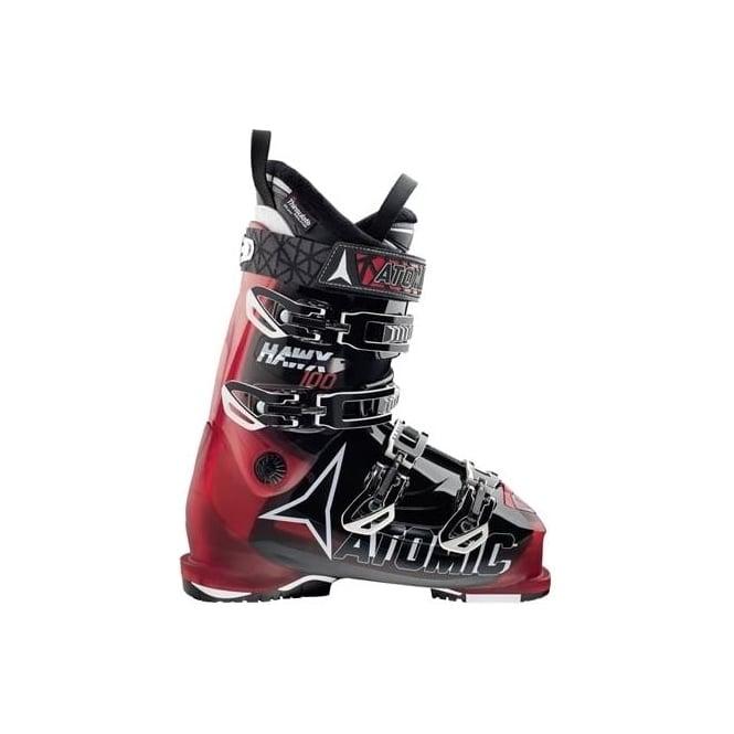 Atomic Mens Ski Boots Hawx 100 - Black/Red (2016)
