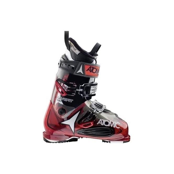 Atomic Mens Ski Boots Live Fit 130 104mm - Red/Black (2016)