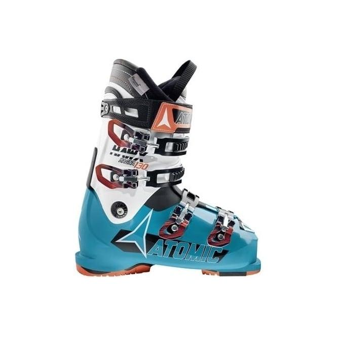Atomic Mens Ski Boots Hawx Magna 130 102mm - White/Blue (2016)