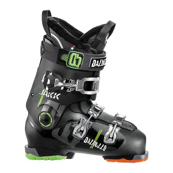 Dalbello Jr Ski Boots Jakk 80 102mm - Black (2016)