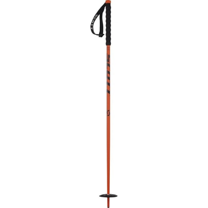 Scott Riot Ski Poles - Red Junior (2016)