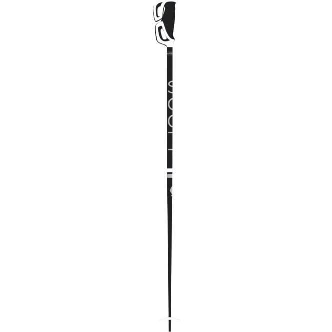 Scott Strapless Ski Pole- Black/White Women