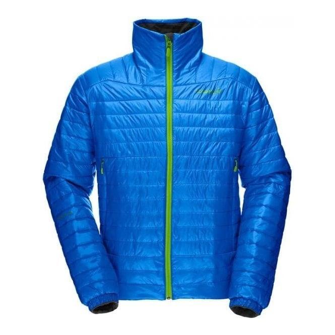 Norrona Mens Mid Layer Falketind Primaloft 60 Jacket - Electric Blue