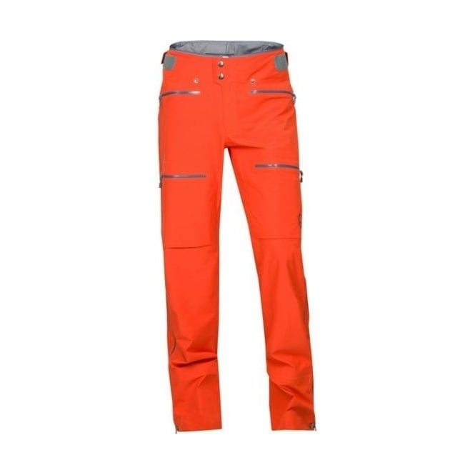 Norrona Mens Lyngen Driflex3 Pant - Hot Chilli Red
