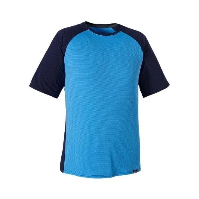 Patagonia Mens Base Layer Capilene Lightweight T-shirt - Blue