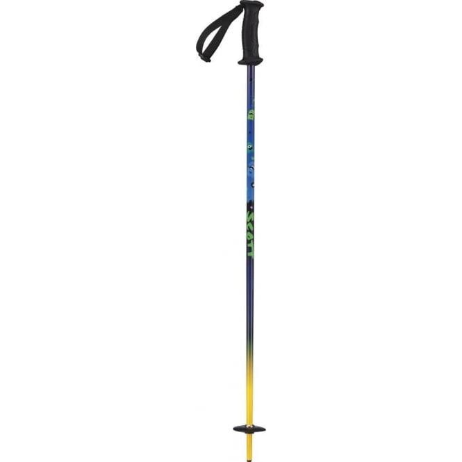 Scott Hero Kid Ski Pole Blue