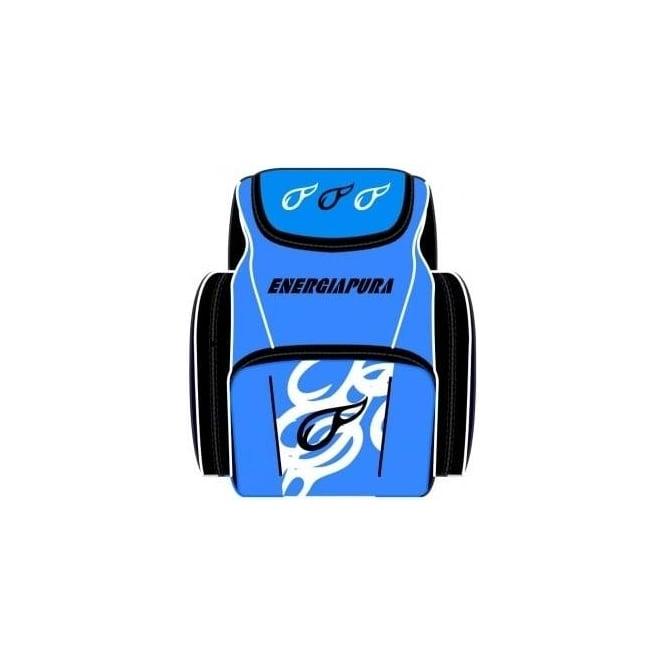 Energiapura Junior Race Bootbag Backpack - Blue with Ski Bartlett Embroidered Badge