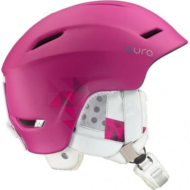 Salomon Aura Auto Custom Air Helmet - Pink