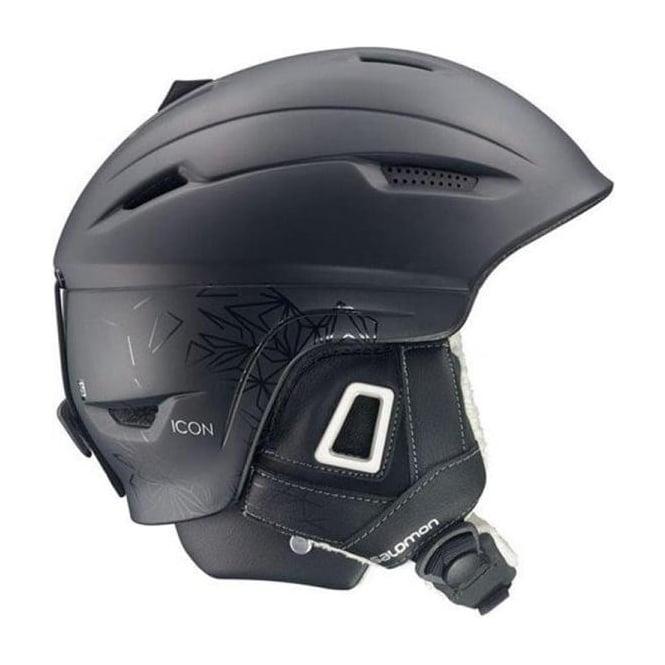 Salomon Icon Custom Air Helmet - Black