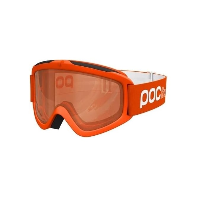 POC Junior Pocito Iris Goggles - Zink Orange with Sonar Orange Lens