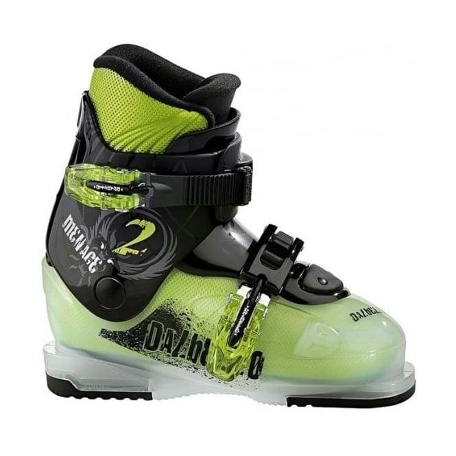 Dalbello Menace 2 Junior Boot - Transparent/Green (2015)