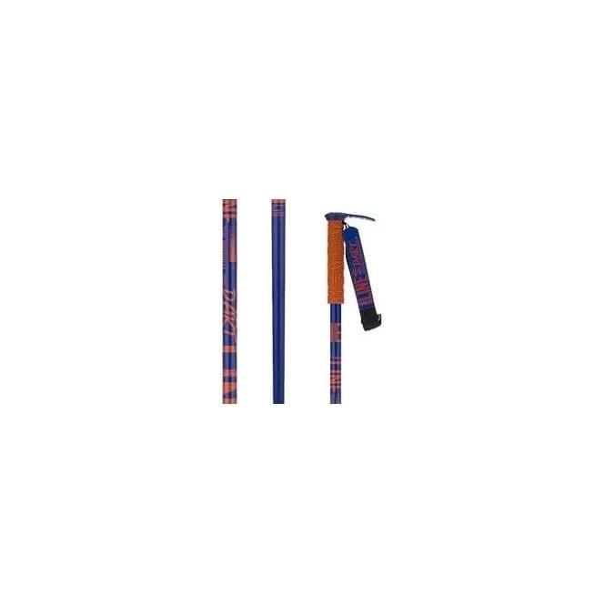 Line Ski Poles Pin - Blue