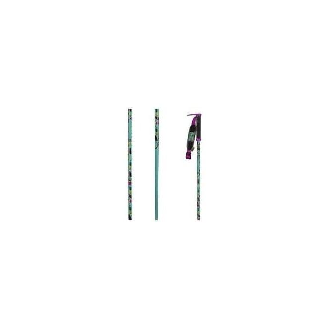 Line Ski Poles Hairpin - Green