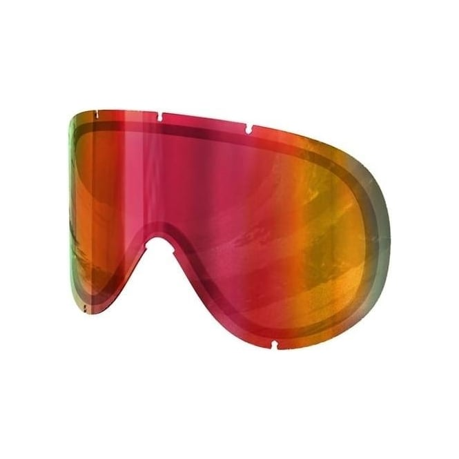 Poc Retina Goggle Double Lens - Persimmon/Red Mirror