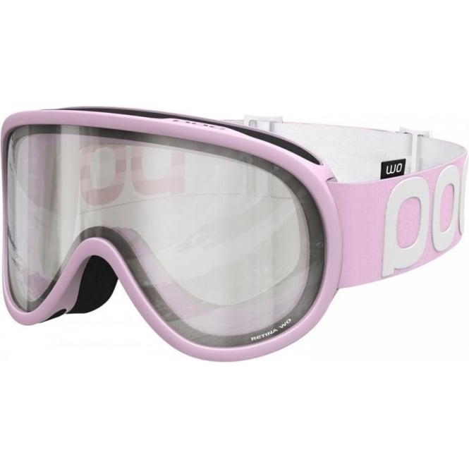 POC Retina WO Goggles - Ytterbium Pink with Bronze/Silver Mirror Lens