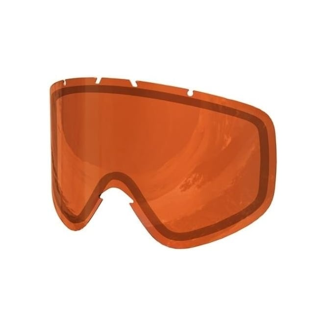 POC Iris Double Lens (Medium) - Sonar Orange
