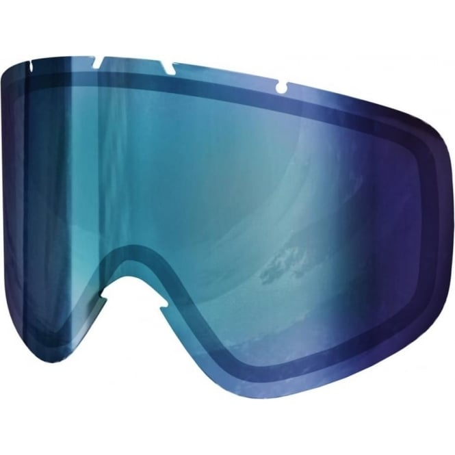 POC Iris Double Lens (Medium) - Bronze/Blue Mirror