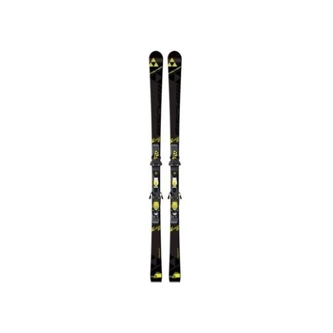 Fischer RC4 WC GS Junior Curve Booster GS Skis 140cm 14m Skis Only (2017)