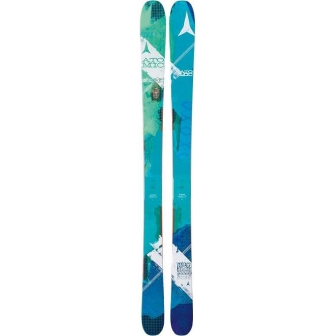 Atomic Vantage W 95 C Skis 162cm + Atomic FFG 12 Binding (2017)