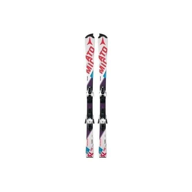 Atomic Redster FIS JUNIOR RPJ Slalom Race Skis 131cm + Z10 2017