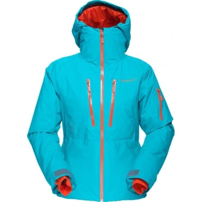 Norrona Wmns Lofoten Goretex Primaloft Jacket - Iceberg Blue