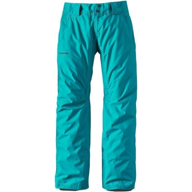 Patagonia Wmns Insulated Snowbelle Pant - Blue