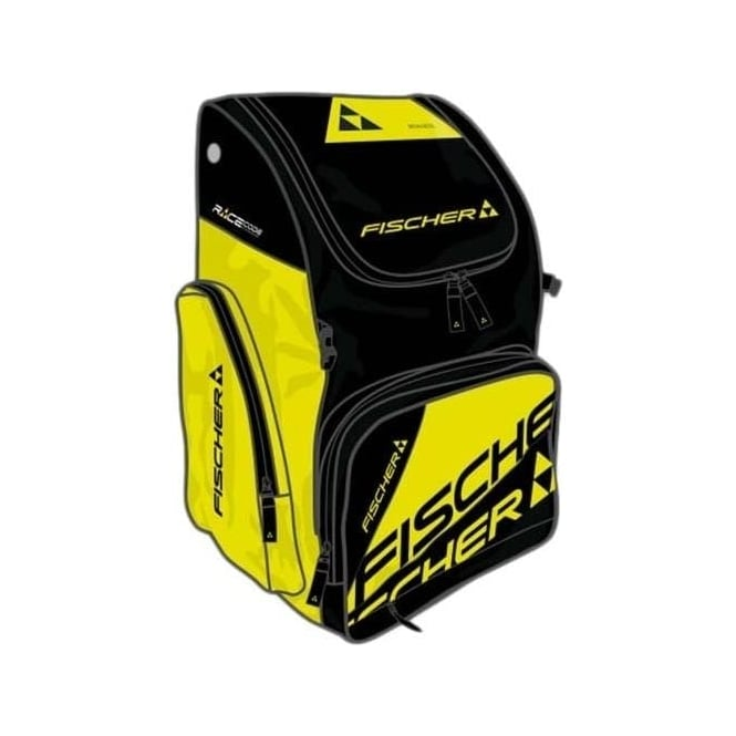 Fischer Race Backpack Large 55L - Black/ Yellow