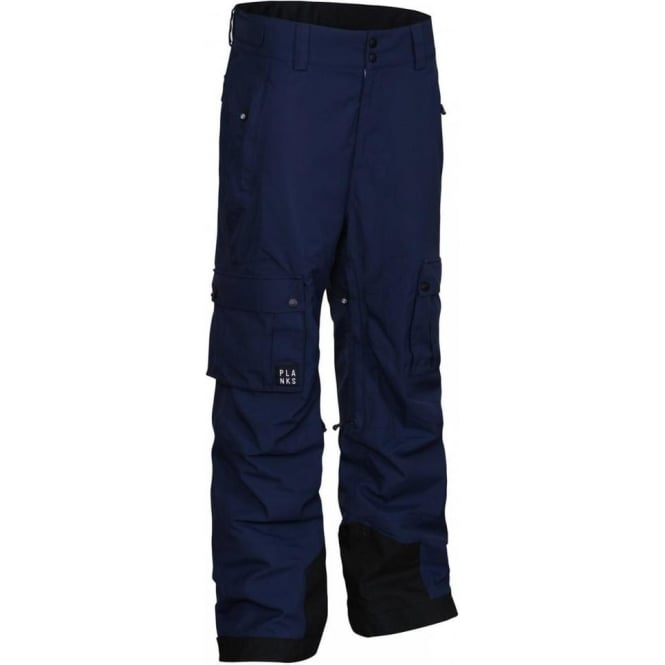 Planks Men's Good Times 2 Layer Cargo Pant - Blue Navy