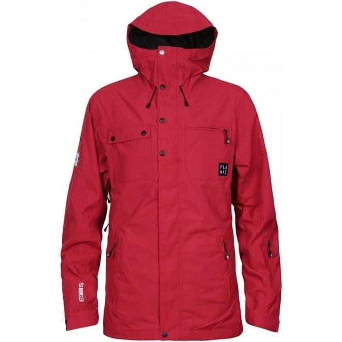 Planks Men's Feel Good 2 Layer Jacket - Red
