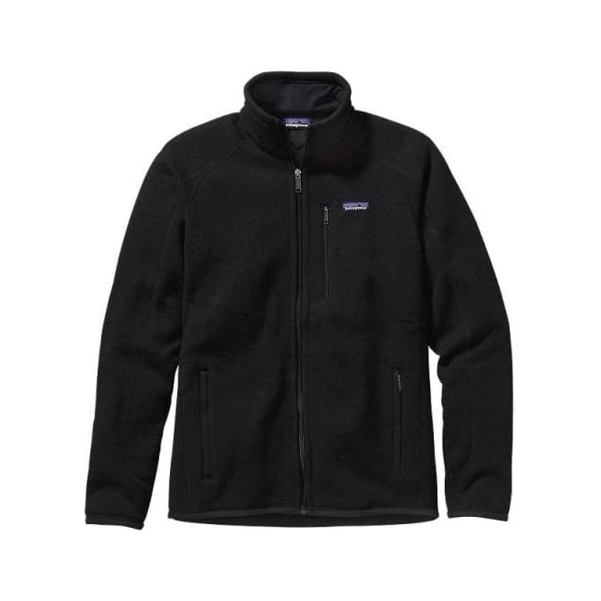 Patagonia Mens Better Sweater Fleece Jacket - Black