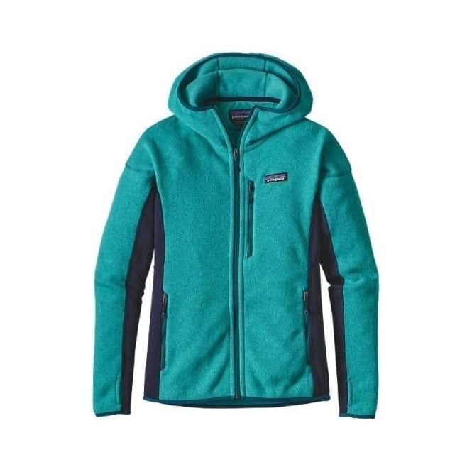 Patagonia Wmns Performance Better Sweater Fleece Hoody - Epic Blue