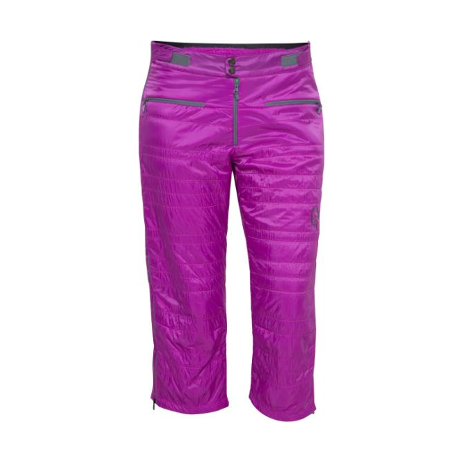 Norrona Wmns Lyngen Alpha 100 3/4 Pants - Pumped Purple