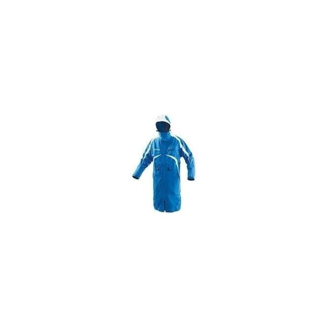 Energiapura Adult Ski Race Raincoat Turquoise White