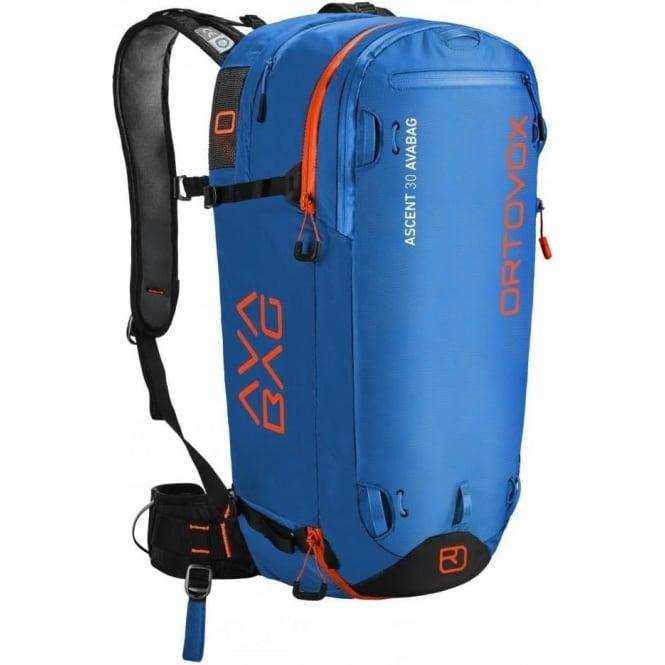Ortovox Ascent 30 Avabag Avalanche Airbag Backpack - Blue Ocean