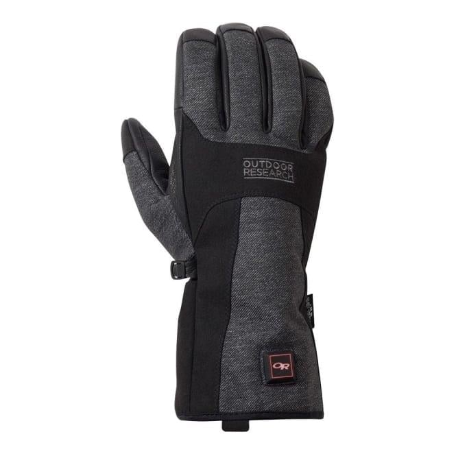 Outdoor Research Oberland Heated Glove - Black/Charcoal