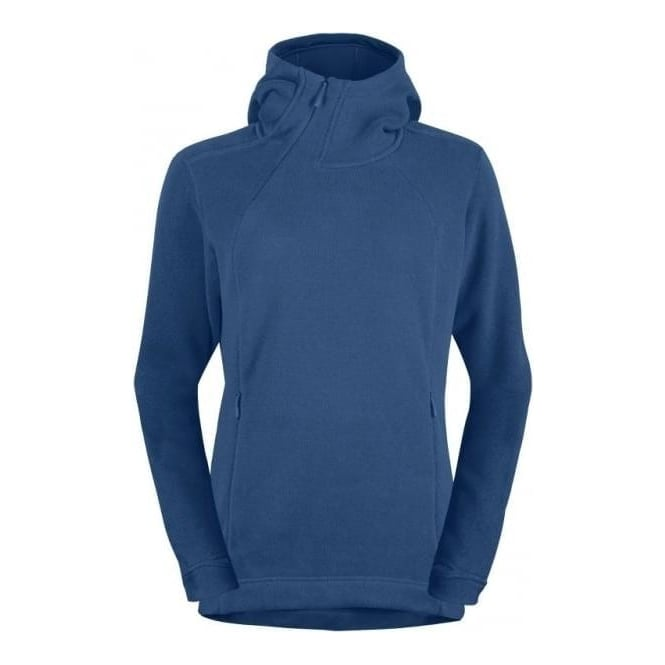 Norrona Womans Mid Layer Roldal Polartec Thermal Pro Hoodie Denimite