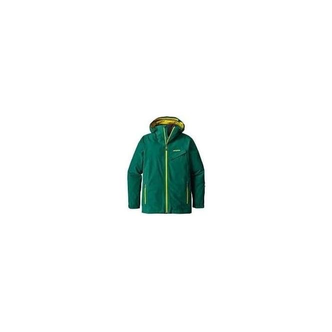 Patagonia Mens Powder Bowl Jacket - Green/Yellow