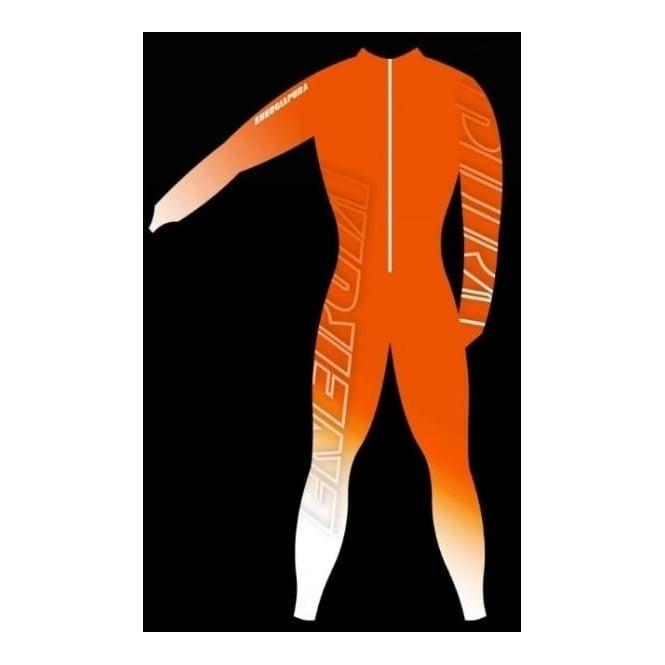 Energiapura Adult Unpadded Race Catsuit Lycra BOLD Orange