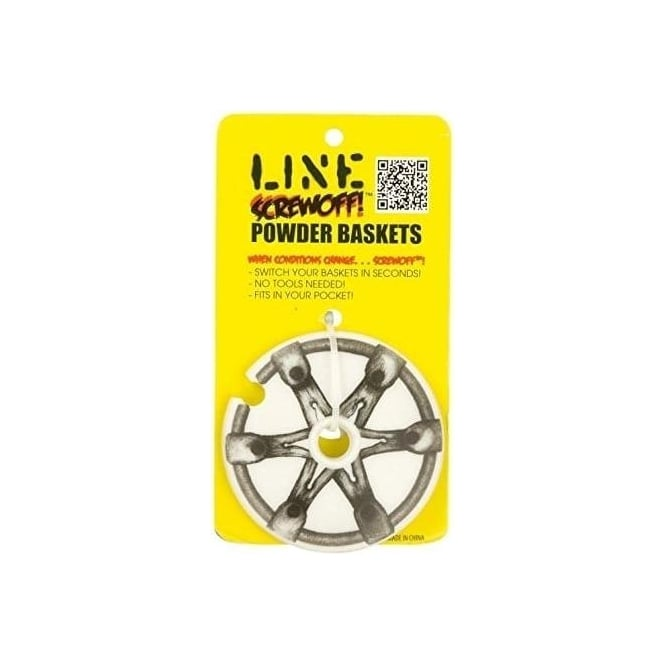 Line Screwoff Powder Baskets 90mm