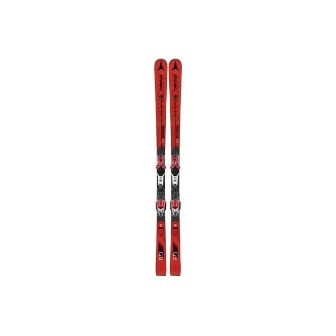 Atomic Redster G9 FIS Junior GS Race Skis 166cm + X12 TL RS Bindings (2018)